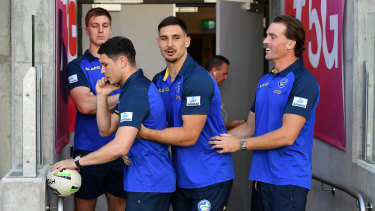 Shaun Lane, Mitchell Moses, Ryan Matterson and Clint Gutherson are among the Eels' most high profile recruits in recent years.