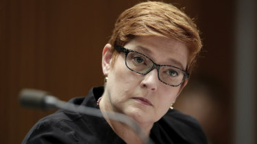 Foreign Affairs Minister Marise Payne says that increased tensions in cyber space could spill over into actual conflict.