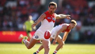 Sydney recruit Daniel Menzel is facing an uncertain future after another stop-start AFL season.