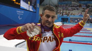 SebastianRodriguez at the London Paralympics.