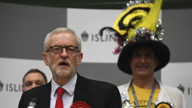 Jeremy Corbyn said he'd stay in his post while his party reflected on the outcome and debated its next steps.