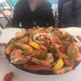 One of the platters on offer.