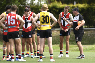Brett Ratten doesn't want to quash the instincts and flair of his players.