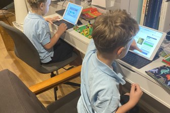 Victorian students will begin a term of remote schooling on Wednesday.