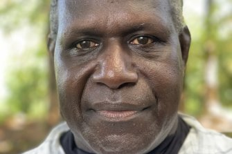 Former Bougainville Revolutionary Army general and now a leading independence figure, Sam Kauona.