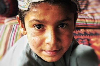 One of the children of Ali Jan, the Afghan man kicked off a cliff in 2012, allegedly by an SAS soldier.