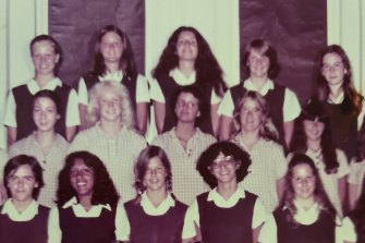 At Sydney Girls' High, MacIntyre is in the bottom row, second from left.