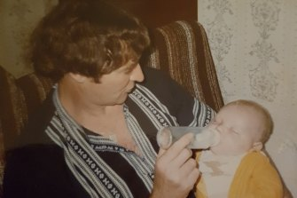 Raymond Keam and his son Dane.