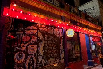 Mojo's Bar in North Fremantle.