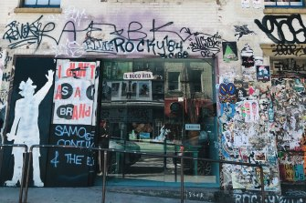 The Great Jones Street studio where Jean-Michel Basquiat died in August 1988.