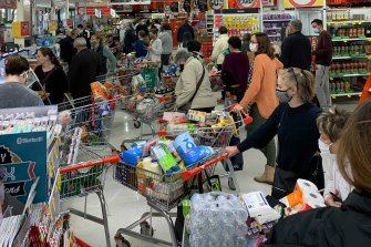 These Sydney shoppers have been outpaced by their regional counterparts.
