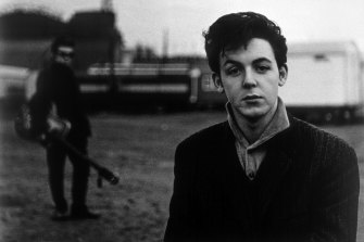 Paul McCartney, photographed by Astrid Kirchherr.