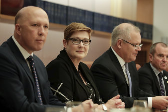 Defence Minister Peter Dutton and Foreign Minister Marise Payne will travel to Washington later this month.
