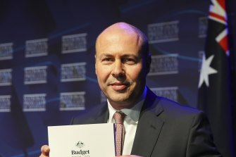 Josh Frydenberg's budget had a big donut for funding the government's proposed integrity commission.
