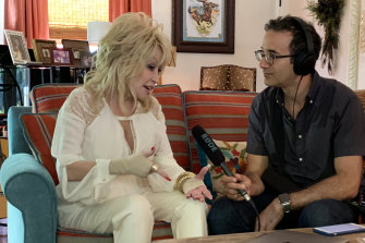 Podcaster Jad Abumrad could hardly get a word in when he interviewed the loquacious  Dolly Parton for Dolly Parton's America.
