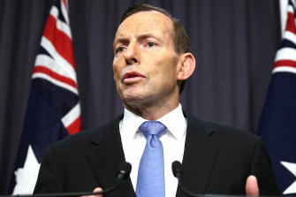 The Abbott government got rid of Labor's carbon pricing and the mining super profits tax.