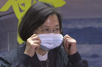 This is the first time Taiwanese President Tsai Ing-wen has directly accused China of blocking vaccine supply.