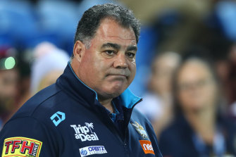 Mal Meninga's Titans are one of six teams yet to record a win in the suspended NRL competition.