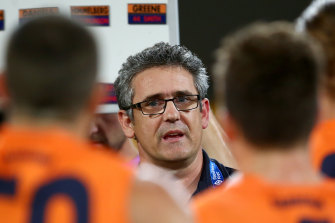 Giants coach Leon Cameron.