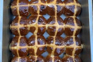 Attica's hot cross buns