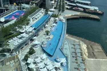 Crown Towers Sydney pool