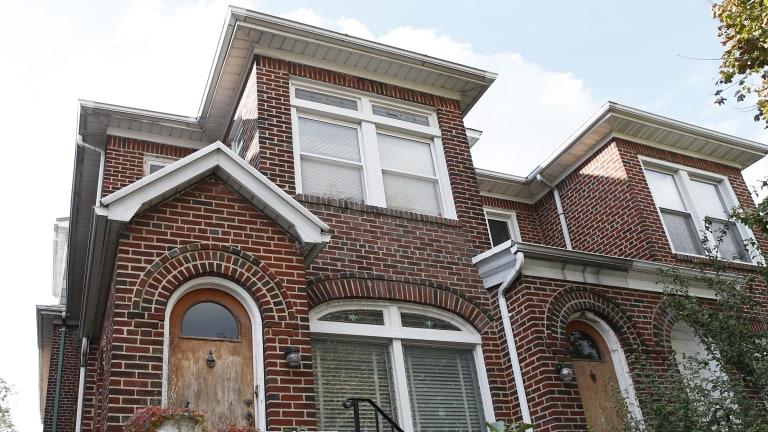 Jakiw Palij home in the Jackson Heights neighbourhood of the Queens borough of New York.