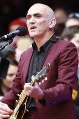 ARIA winner Paul Kelly.