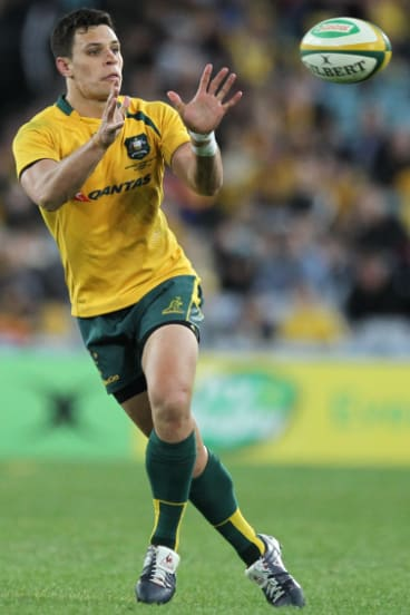 Test days numbered?: Toomua played his last match for the Wallabies in 2016.