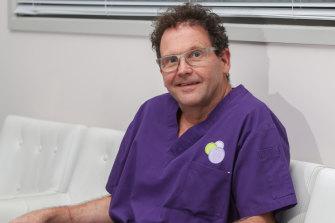 Dr Holten was an Australian of the Year finalist.