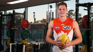 Hayden McLean will make his AFL debut this week for Sydney.