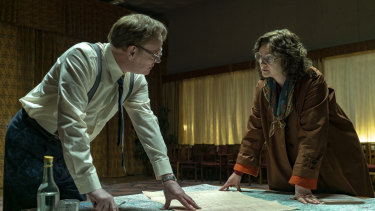Chernobyl, the dramatisation of the 1986 nuclear disaster in the Soviet Union, netted nominations.
