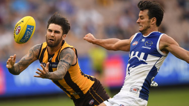 The Hawks went hard to secure Chad Wingard from Port Adelaide.