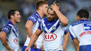 Dog of a day: Kieran Foran is back in the side but Canterbury's resources in the halves are being stretched by injuries.