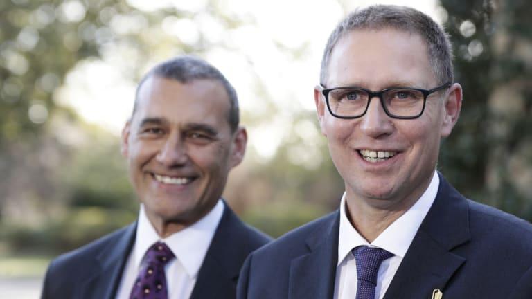 Dr Craig Challen and Dr Richard Harris.