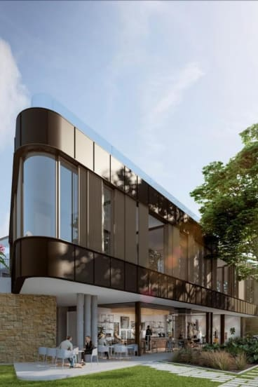 An artist's impression of a controversial apartment development in Balgowlah Heights.