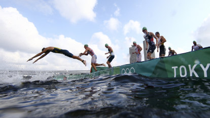 'One of the roughest swims I have been in': Non-contact sport triathlon gives Birtwhistle a broken nose