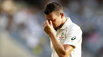 Hazlewood ruled out for rest of Test, possibly series