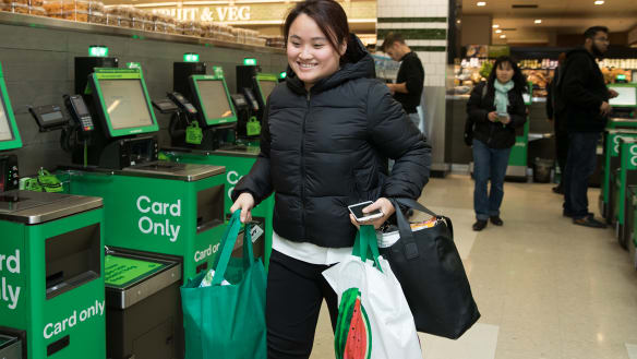 'Normally I'd just throw the plastic bags away': Customer shift has retailers ditching plastic