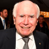 John Howard warns of 'existential challenges' for Liberals and Nationals