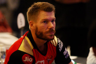 David Warner is one of 38 Australians who were involved in the IPL.