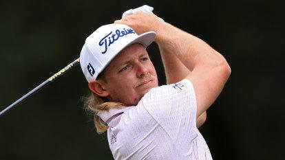 Aussie golfer equals US tour record during stunning round