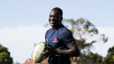 South Sudanese refugee Yool Yool will start on the wing for Manly on Saturday.