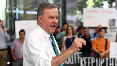 Anthony Albanese says Labor will expect business to do more to create opportunities for older workers.