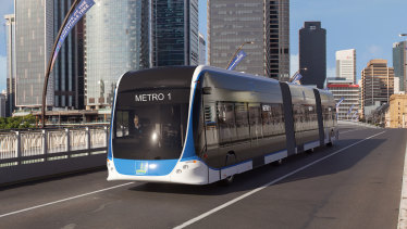 Council announced electric vehicles would operate on the Brisbane Metro.