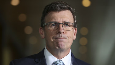 Acting Immigration Minister Alan Tudge.