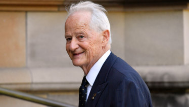 NSW Liberal Party President Philip Ruddock.