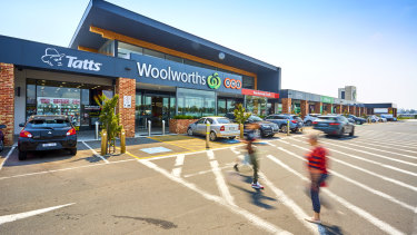 The Keysborough South shopping centre is anchored by a Woolworths supermarket with eight specialty shops.