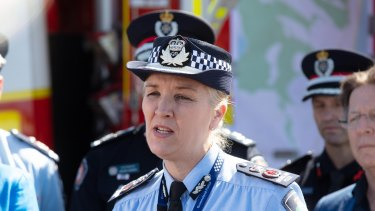 The woman called on Queensland Police Commissioner Katarina Carroll to act.