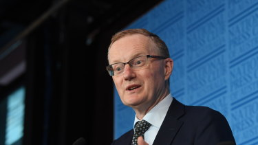 RBA governor Philip Lowe: the bank says employment is unlikely to grow faster than population growth.