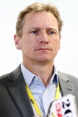 ABC's political editor Andrew Probyn.
